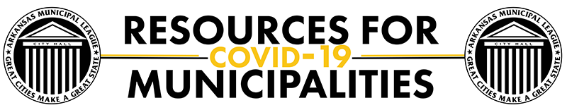 COVID19 Resources for Municipalities Banner